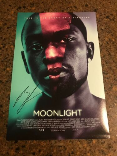 * BARRY JENKINS * autographed signed 12x18 photo poster *MOONLIGHT * 1