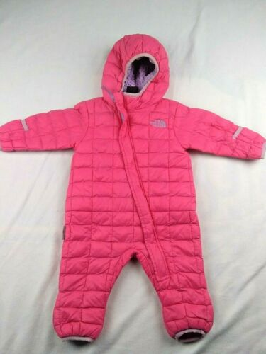 The North Face Thermoball Infant Bunting 3-6 Months Pink