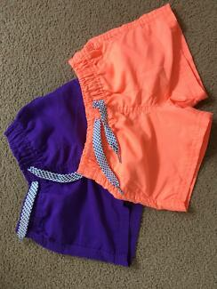 2 x Kids shorts, size 2
