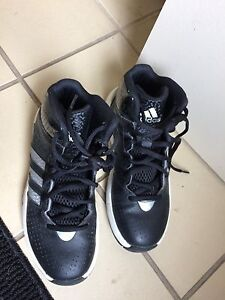 Youth size 3 adidas basketball shoes