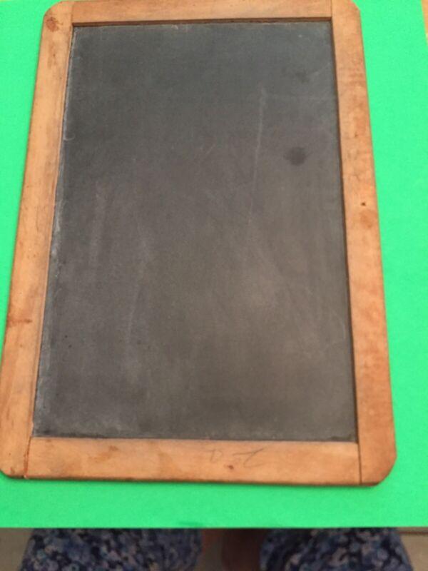 Antique Vintage Slate Schoolhouse  Chalkboard