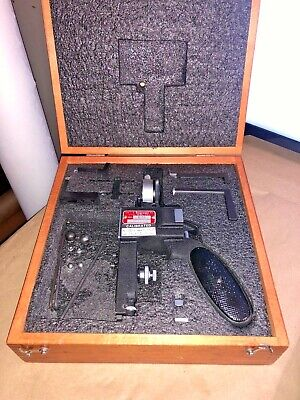 Starrett No. 1175 Groove Gage With Tips And Indicator .0005