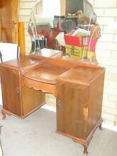 Wooden dressing table with mirror Armidale 2350 Armidale City Preview