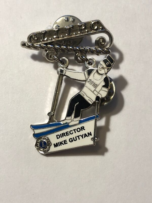 2010 L.I.T.P.C. Director Mike Gutyan Skier Lions Club Pin