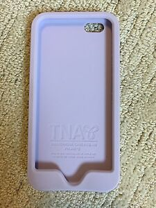 Aritzia TNA Soft Silicone Purple iPhone 6 Case