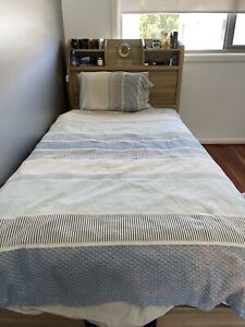 Bed and mattress king single