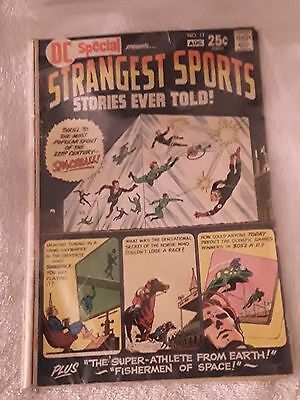 DC COMICS SPECIAL STRANGEST SPORTS STORIES EVER TOLD ISSUE # 13 1971