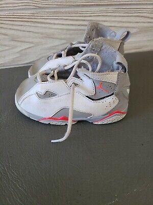 Nike Air Jordan 6 VI Retro infrared Basketball shoes size 8C Baby Toddler