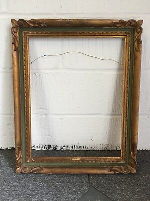 Old Antique hand carved picture frame