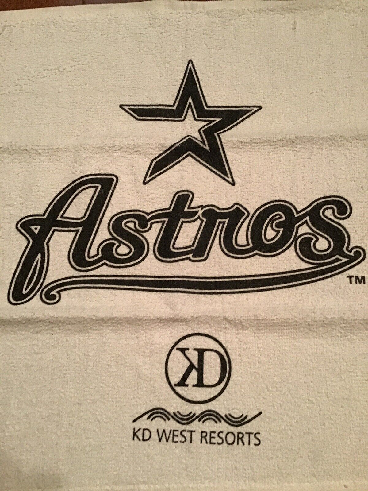 Houston Astros Rally Towel Iconic Logo Design NEW
