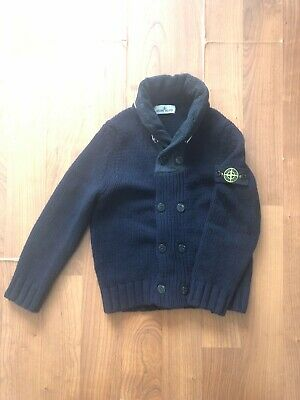 Stone Island Junior Hooded Sweater Size 8/128 in Excellent Condition