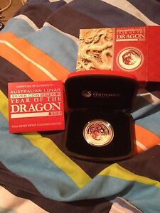Silver Bullion - year of the dragon Bassendean Bassendean Area Preview
