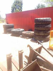 Earthmoving / Truck / Crane Tyres Various Sizes Kenwick Gosnells Area Preview