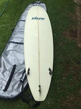 Platts Mini Mal surfboard Grafton Clarence Valley Preview
