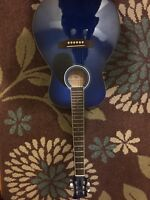 Blue guitar jr