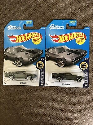 2017 Hot Wheels Ice Charger COLOR VARIATION Rare Mint On Card