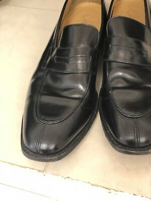 cole hann Black Slip On shoes men Size 11 Dress Office Attire Special Occasion Special Occasions Mens Shoe