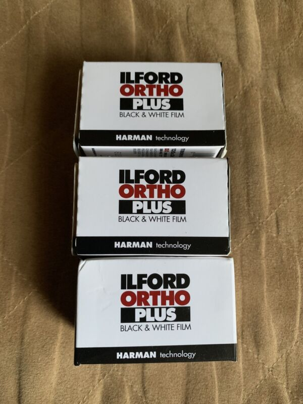 Ilford Ortho 80 35mm  3 Rolls -36 Exp