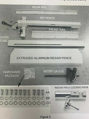 Fence And Rail Assembly For Powermatic Bandsaw 18parts For Pm1800 Mk-001-a