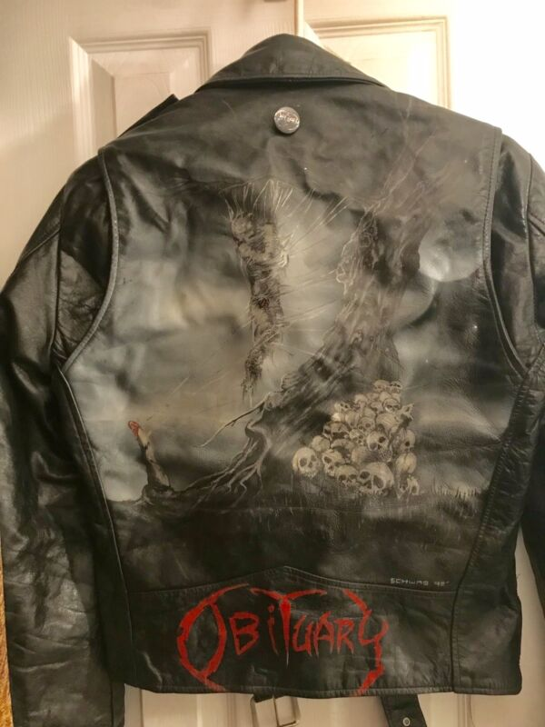 Obituary Cause of Death Custom Jacket From 1991