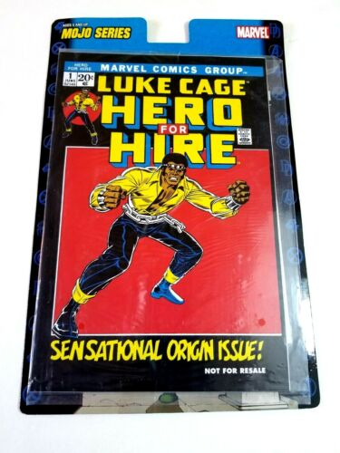 """Luke Cage """"HERO FOR HIRE"""" #1 Reprint on Card, Marvel Comics, 2006 SEALED PACKAGE"""