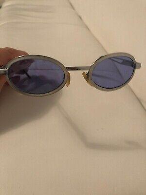 Sonnenbrille Blogger Fashion rund 80er Retro Frame Jackie O. KJ