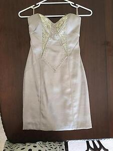 Seduce silver cocktail dress (Size 6) Belair Mitcham Area Preview