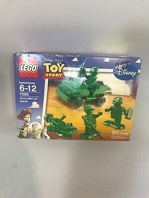 NEW! Lego Green Army Men on Patrol 7595 Toy Story Jeep