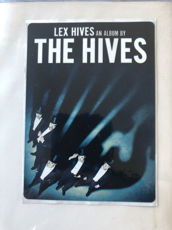 THE HIVES Lex Hives USA PROMO Sticker RARE 2013 ALTERNATIVE MINT