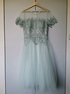 Ball formal party lace detail dress NEW with tag