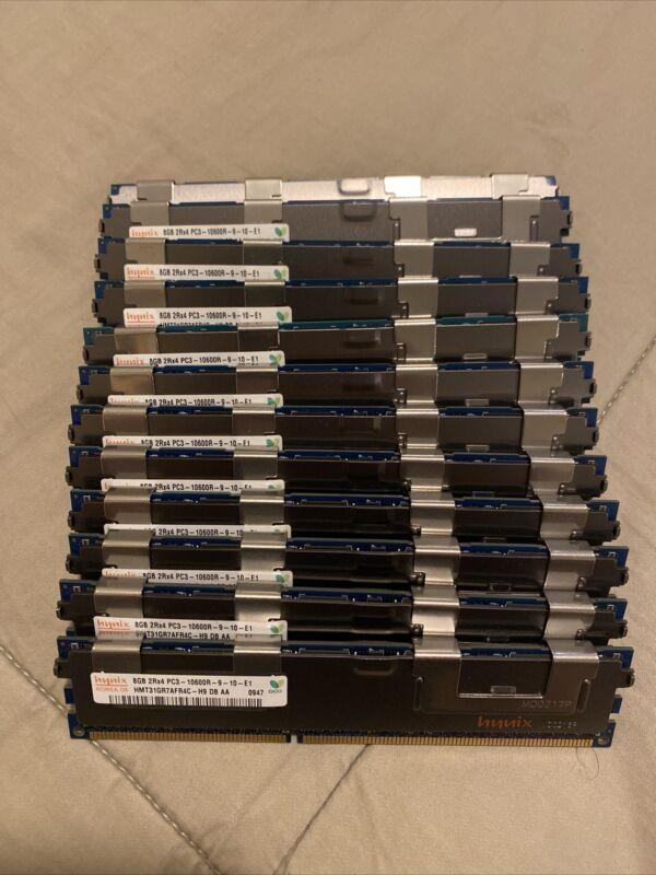 Hynix 96GB (12x8GB) PC3-10600R Server Memory