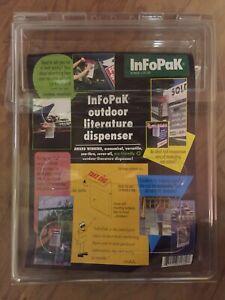 InfoPak  outdoor literature dispenser.