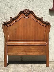 French Antique Bed Headboard Chatswood Willoughby Area Preview