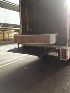 KG Transport, Pantech 6,5to, 20cube with lifter, Man & Truck