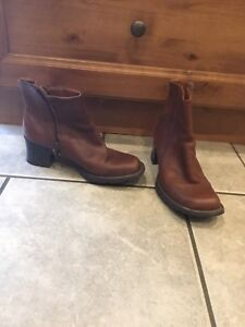 Timberland leather boots (women's)