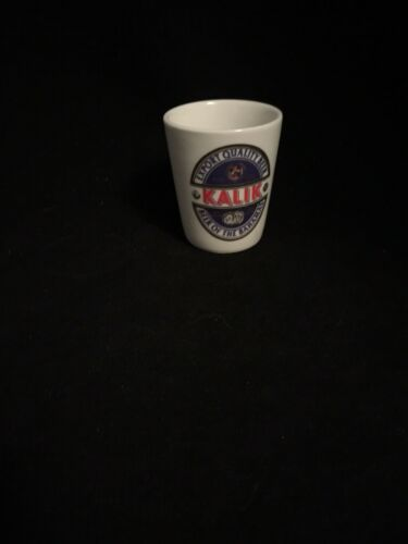 Photo KALIK BEER OF THE BAHAMAS SHOT GLASS
