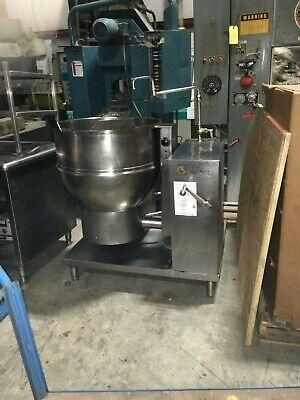 Groen Dhip-40 40 Gal. Stainless Steel Tilt Nat Gas Steam Kettle Stock 609