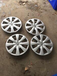"Toyota Wheel covers. 15"""