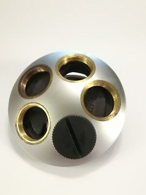 Leitz Turret For Microscope Lenses. Laborlux S 020-422.521-007