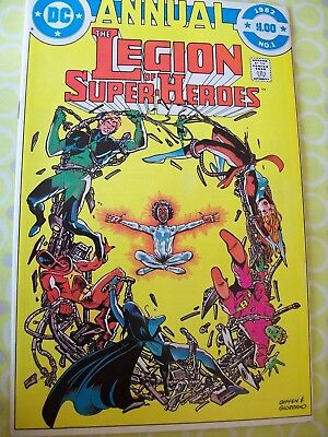 The Legion of Super-heroes Annual 1  DC 1982 Levitz Giffen Patterson