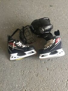 Size 7 Ccm and helmet