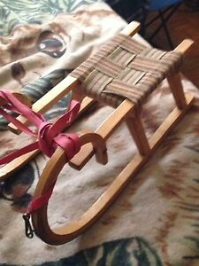 Old Baby Sled