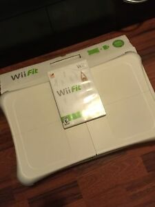 Wii fit with game
