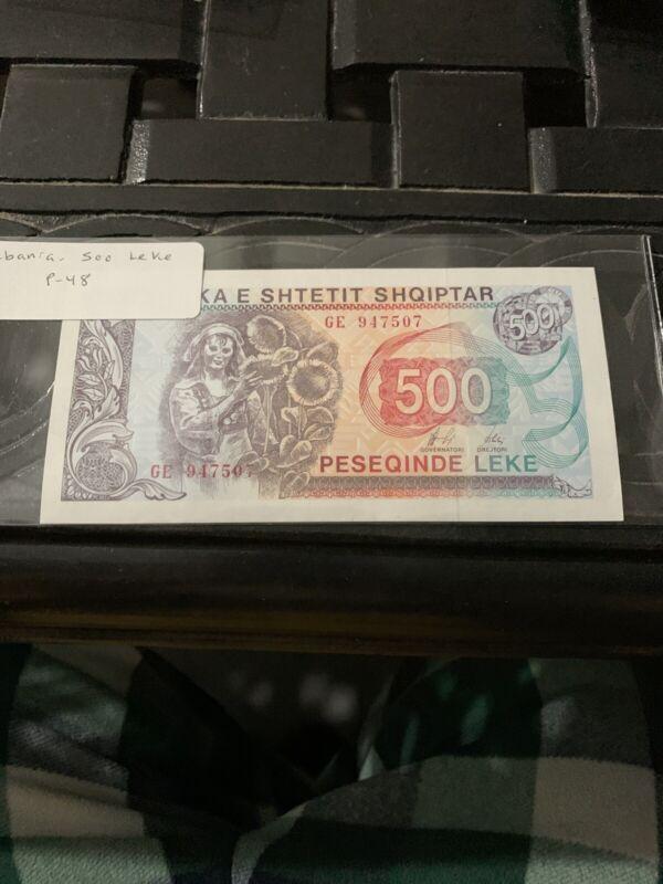 Albania 500 Leke, 1996, P-48b, banknote, UNC