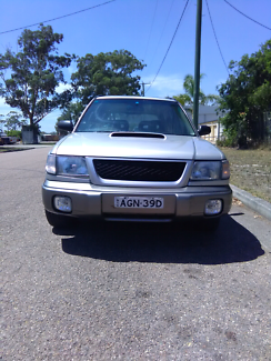SUBARU GT FORESTER. FACTORY TURBO. REGO 14/4. MANUAL.