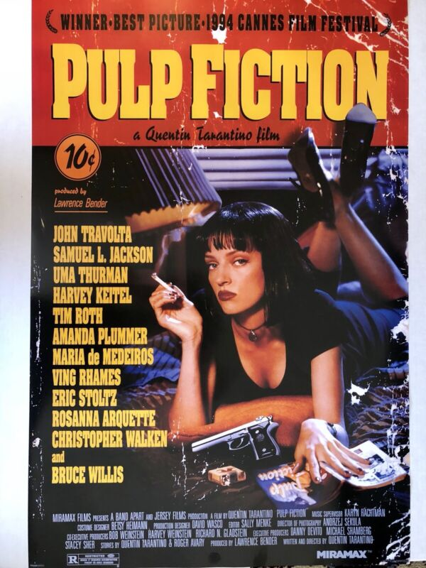 Pulp Fiction Movie Poster 24x36