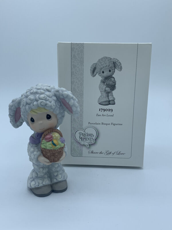 Precious Moments 179029 Ewe Are Loved Easter Figurine lamb costume