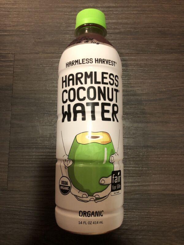 Harmless Harvest Organic Coconut Water, Original 14oz Pack of 6