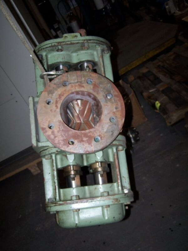 "WORTHINGTON FLOWSERVE 6"" DOUBLE HELICAL ROTARY GEAR PUMP 225 PSI"