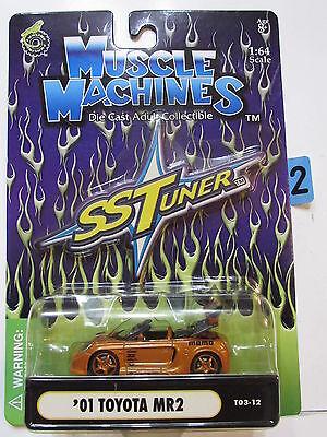 Muskel Maschinen Ss Tuner - '01 Toyota MR2 1:64 Maßstab
